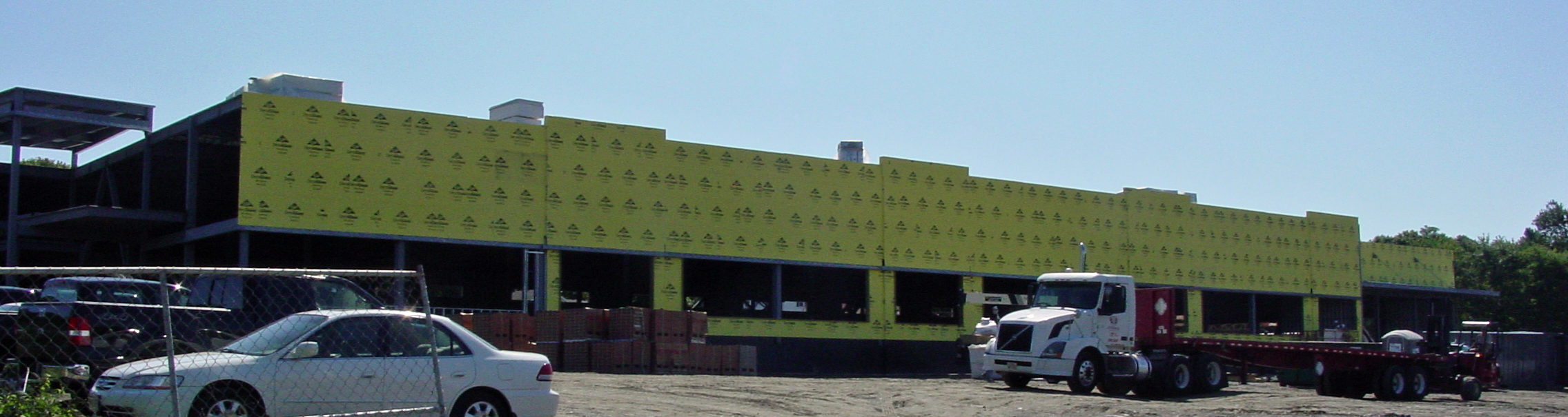 Building facade, August 17, 2011