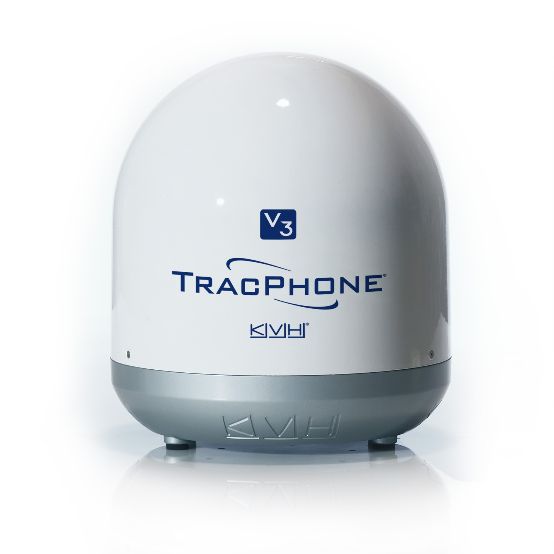 TracPhone V3 satellite communications