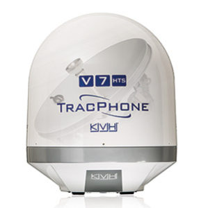 KVH, TracPhone, V7-HTS, V7HTS, high-throughput satellite, global VSAT, satcom at sea, marine VSAT, maritime VSAT, connectivity, power of connections, telemedicine, streaming HD content, video calls, IoT inside, IoT proactive monitoring