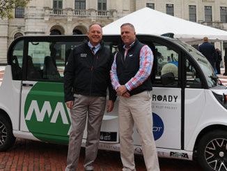 KVH, May May Mobility, Little Roady, Martin Kits van Heyningen, Sean McCormack, IMU, driverless car, autonomous shuttles